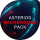 Asteroid Cinematic Backgrounds Pack