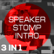 Speaker Stomp Intro 3 in 1
