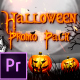 Halloween Teaser Promo Pack - Premiere Pro