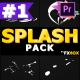 Cartoon Splash Element | Premiere Pro MOGRT