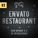 Envato Restaurant/ Cafe Promo/ Modern Bar Menu/ Fast Food/ Vegetarian Dish/ Meal Delivery/ Lunchroom