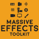 Massive Effects Toolkit Big Pack of Presets Transitions and Footages