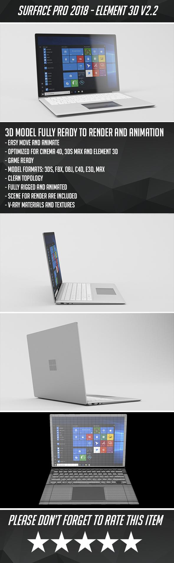 Surface Laptop Pro 2018