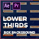 Clean Boxed Lower Thirds | MOGRT