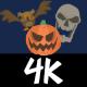 4K Halloween Cartoon Creature Elements Pack