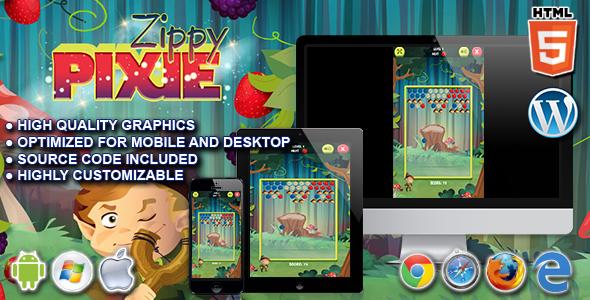Zippy Pixie - HTML5 Puzzle Sport  - PHP Script Download 1