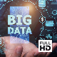 Businessman Open Hand Big Data (FULL HD)