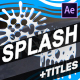 Cartoon Splash FX and Titles | After Effects