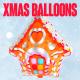Foil Balloons - Xmas Party Collection