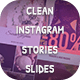Clean Instagram Stories Slides