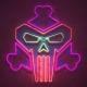 Grunge Neon Logo