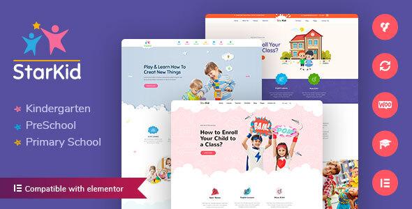 StarKid - Kindergarten WordPress Theme