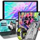 64 Realistic App Promo Device Mockup Set