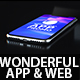 Wonderful App Promo and Website Promo