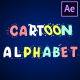 Cartoon Alphabet | After Effects