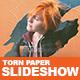 Torn Paper Slideshow