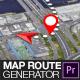 Map Route Generator for Premiere Pro