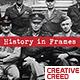 Brush History Slideshow / Retro Vintage Opener / Old Memories Photo Album / World War