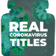 Real Coronavirus Titles