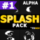 Cartoon Liquid Splashes | Motion Graphics Pack