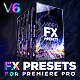 Presets Pack for Premiere Pro | Transitions, Effects, VHS, Titles, LUTS, Sounds