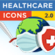 Healthcare Icons (Coronavirus) FULL HD