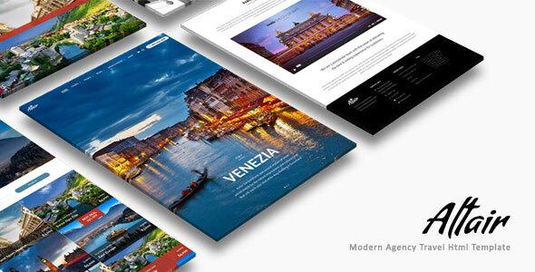 , Altair | Travel Agency HTML, Laravel & VueJs, Laravel & VueJs