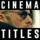 Cinema Title Sequence