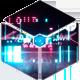 Cyberpunk Crypto Glitch