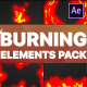 Burning Elements | After Effects