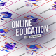 Online Education - Isometric Concept