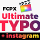 UltimateTypo - 120 Titles Pack FCPX