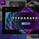 Stylish Typography Pack-Premiere Pro