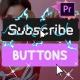 Subscribe Buttons | Premiere Pro MOGRT