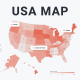 USA Map Infographics