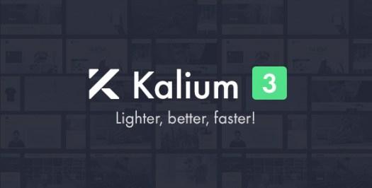 Kalium - Thème créatif pour les professionnels
