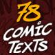 Comic Texts FX Pack