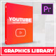 Youtube Graphics Pack | Essential Graphics | Mogrt