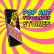 Pop Art Typography Sale Stories