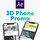 3D Smartphone Presentation for After Effects