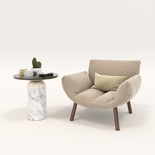 Modern Armchair Design Set