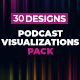 Podcast Visualizations Pack