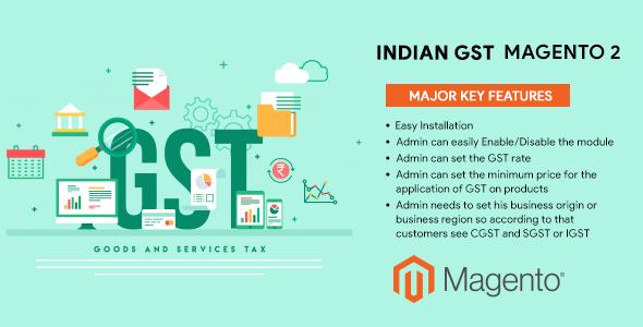 Indian GST Magento 2
