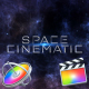 Space Cinematic Titles - Apple Motion