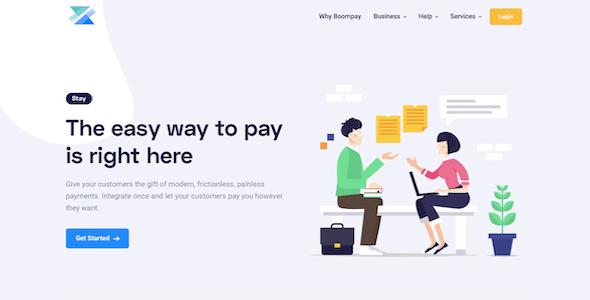 , Boompay – Modern Payment Gateway, Laravel & VueJs