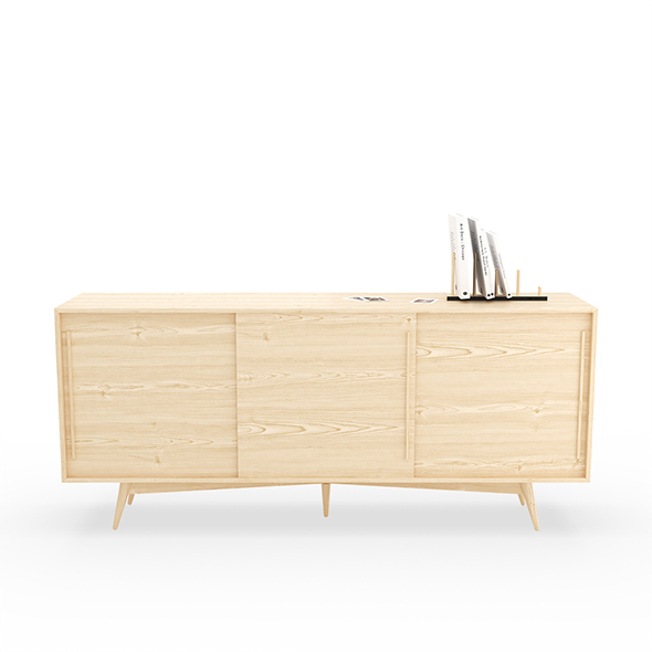 Scandinavian TV unit