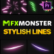 Stylish Lines | Premiere Pro MOGRT