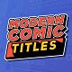 Modern Comic Titles
