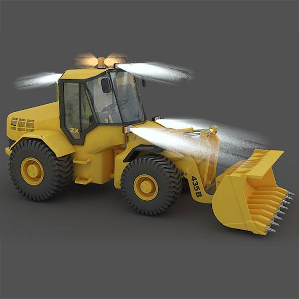 3D loader rig