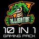 Gaming Channel Pack - 10 in 1